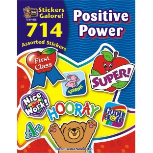 Sticker Book - Positive Power - Image 1 of 1
