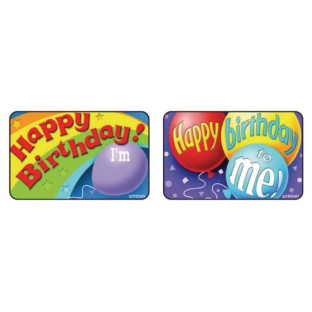 Birthday Badges (Pack of 30) - Image 1 of 1