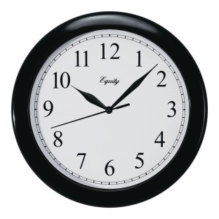"Equity 10"" Analog Wall Clock - Image 1 of 2"