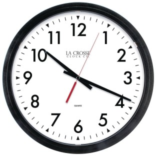 "Equity 14"" Commercial Analog Wall Clock - Image 1 of 2"