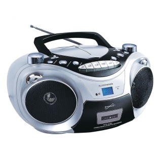 Supersonic® Portable Bluetooth Audio System with Cd and Cassette - Image 1 of 1