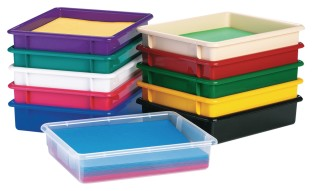 Plastic Paper Trays - Image 1 of 1