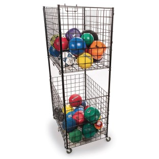 2-Tier Steel Ball Cart - Image 1 of 2