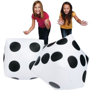 Jumbo Inflatable Dice - Image 1 of 2