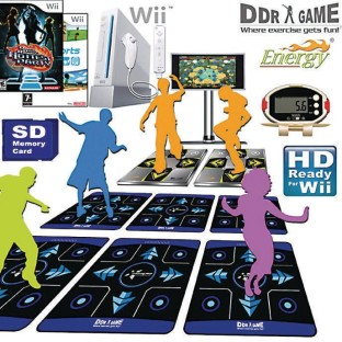 Wii™ DDR Super Group Fitness Pack - Image 1 of 1