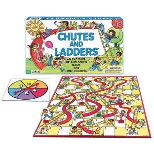 Chutes and Ladders Game - Image 1 of 1