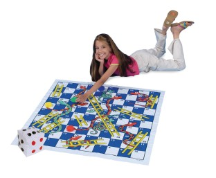 Jumbo Snakes & Ladders - Image 1 of 1