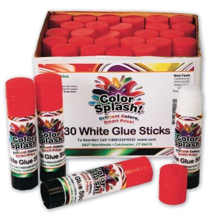 Color Splash!® Glue Stick (Pack of 30) - Image 1 of 3