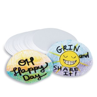 Paper Circles for Button Maker (Pack of 100) - Image 1 of 3