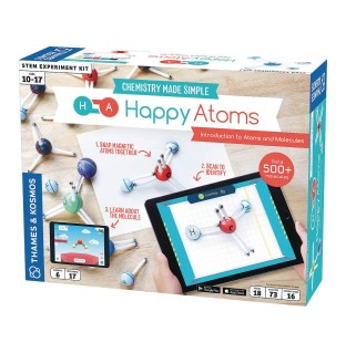 Happy Atoms Magnetic Molecular Modeling Introductory Set and iOS App - Image 1 of 3