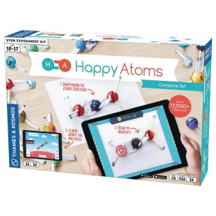 Happy Atoms Magnetic Molecular Modeling Set and iOS App Complete Set - Image 1 of 3
