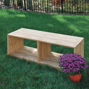 Miraculous Buy Wood Designs Outdoor Bench With Storage At Ss Worldwide Ibusinesslaw Wood Chair Design Ideas Ibusinesslaworg