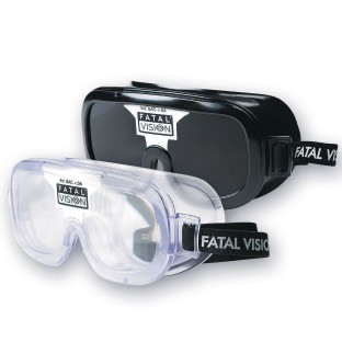 Fatal Vision® White Label Alcohol Impairment Simulation Goggles - Image 1 of 3
