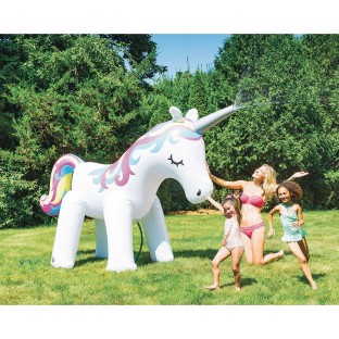 Ginormous Unicorn Inflatable Yard Sprinkler - Image 1 of 5