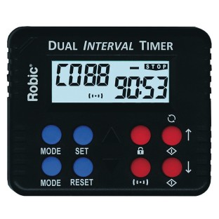 Robic® M613 Dual Countdown And Interval Timer - Image 1 of 1