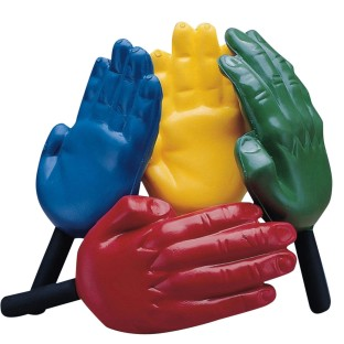 Foam Hand Paddles - Image 1 of 2