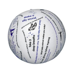 Toss 'n Talk-About® Relaxation Ball - Image 1 of 1