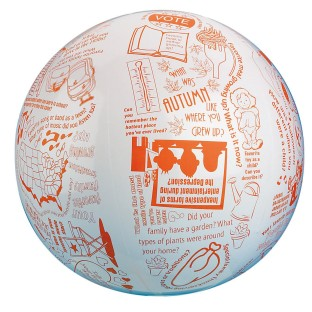 Toss 'n Talk-About® Reminiscing Ball - Image 1 of 2