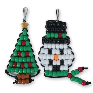 Holiday Bead Buddies Craft Kit (Pack of 24) - Image 1 of 3