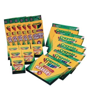 Crayola® S&S® eSSentials Easy Pack - Image 1 of 1