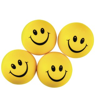 Smile Face Stress Balls (Pack of 24) - Image 1 of 1