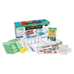 Crayola® Design A Game: A Create-To-Learn™ STEAM Program - Image 1 of 1
