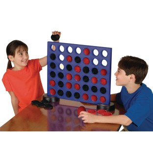Giant 2-In-1 Four In A Row And Checkers Game - Image 1 of 2