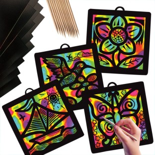 Scratch-Art® Light Catcher™ Pack (Pack of 12) - Image 1 of 1