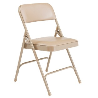 NPS® 1200 Series Vinyl Upholstered Folding Chair Pack (Pack of 4) - Image 1 of 5