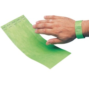 "Tyvek® 3/4"" Event Security Wristbands - Image 1 of 5"