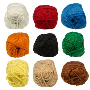 Color Splash Polyester Rug Yarn, 60yd., Brown - Image 1 of 1