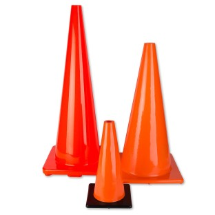 Large Orange Cones - Image 1 of 2