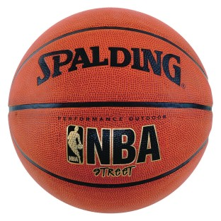 Spalding® NBA Street Rubber Basketball - Image 1 of 1