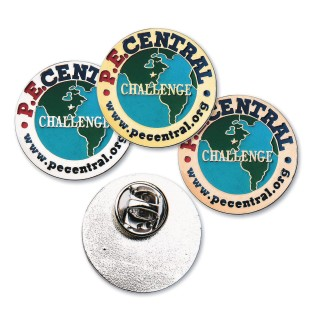 PE Central's Cooperative Skills Challenge© Pins - Image 1 of 5
