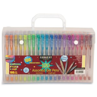 Sargent Art® Gel Pens (Set of 100) - Image 1 of 4