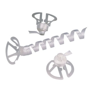 Cup N' Ribbon Balloon Fastener (Pack of 100) - Image 1 of 1