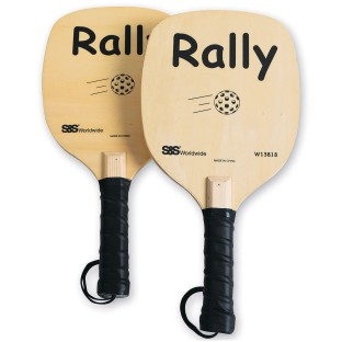 S&S® Wooden Rally Pickleball Paddles (Pack of 2) - Image 1 of 2
