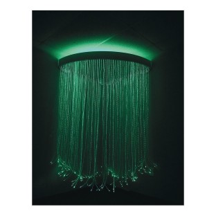 Calming Fiber Optic Corner Shower - Image 1 of 5