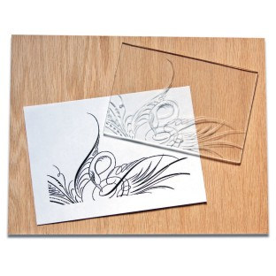 Clear Carve Linoleum, 6in x 8in (Pack of 12) - Image 1 of 1