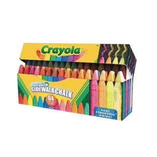 Crayola® Washable Sidewalk Chalk (Box of 64) - Image 1 of 1