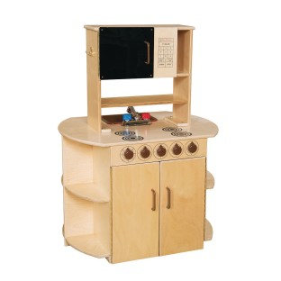 Wood Designs® All-in-One Wooden Kitchen Center - Image 1 of 3