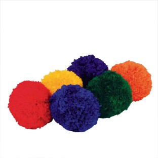 Spectrum™ Fleece Balls (Set of 6) - Image 1 of 2