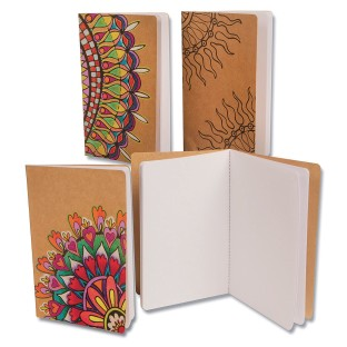 Kraft Journals To Color (Pack of 12) - Image 1 of 2