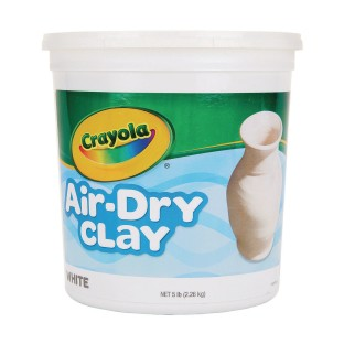 Crayola® Air Dry Clay, 5lb. White - Image 1 of 1
