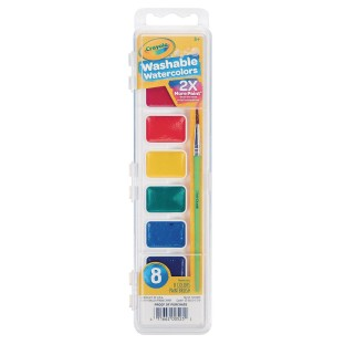 Crayola® Washable Watercolors, 8 Colors - Image 1 of 1