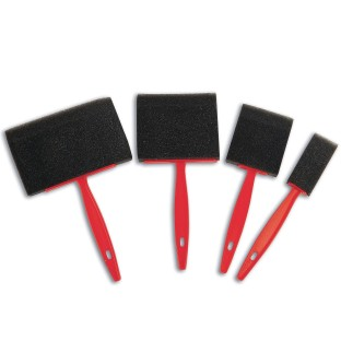Foam Brushes Asst. Sizes (Pack of 12) - Image 1 of 2