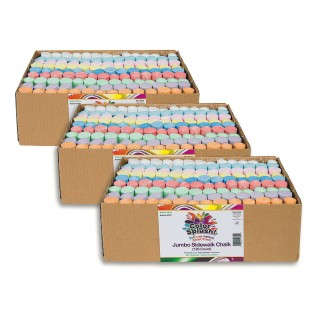 Color Splash!® Giant Box of Sidewalk Chalk (Pack of 378) - Image 1 of 1