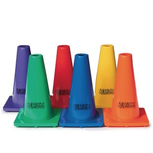 "Spectrum™ Poly Cones Set, 9"" (Set of 6) - Image 1 of 2"
