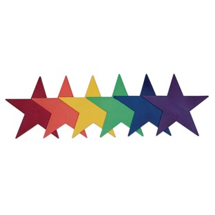 Spectrum™ Star Markers (Set of 6) - Image 1 of 1