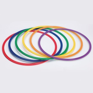 Spectrum™ Flat Hoops / Agility Rings (Set of 6) - Image 1 of 4